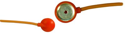 Silver disc-electrode