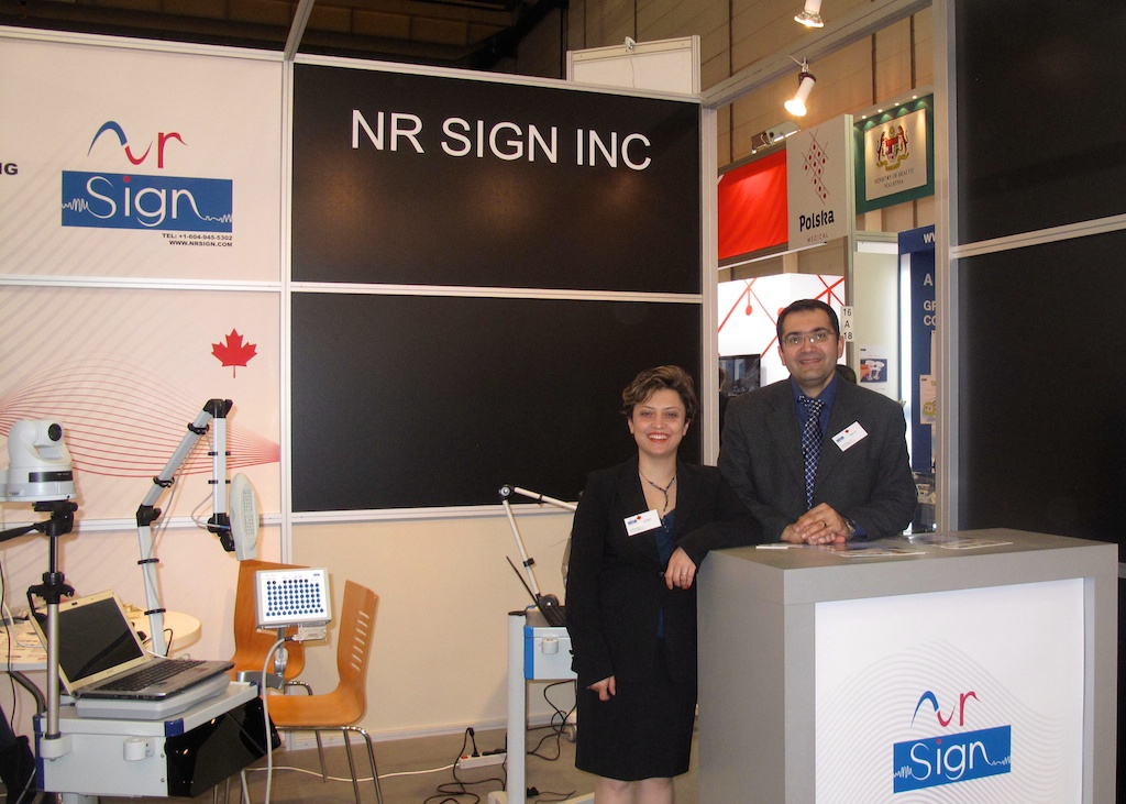 Our Booth at Medica 2012